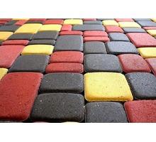 Плитка Тротуарная Вибропресс,Старый город, кирпичик 100-200-(40)60мм. Цена от 400р.Своё производство - Кирпичи, камни, блоки в Севастополе