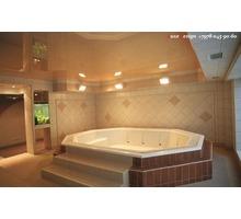 Натяжные потолки в ванную комнату-правильный выбор - Натяжные потолки в Джанкое