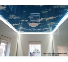 Парящие натяжные потолки-своеобразная игра света - Натяжные потолки в Джанкое