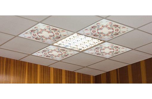Hегорючий потолок     Подвесной негорючий потолок, фото — «Реклама Севастополя»