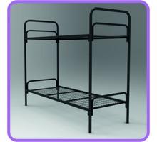 Кровать двухъярусная металлическая - Мягкая мебель в Крыму