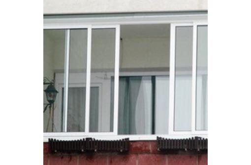 Раздвижные системы на балкон - Ремонт, установка окон и дверей в Саках