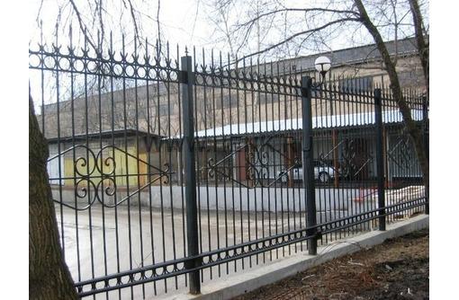 Сварной забор из металла - Заборы, ворота в Севастополе