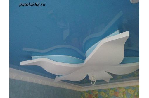 Натяжные потолки с гипоскартонными конструкциями - Натяжные потолки в Красногвардейском