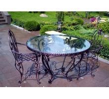 Изготовление мебели для сада. Беседки, фонари, вольеры для собак и др. уникальные кованые изделия - Садовая мебель и декор в Ялте