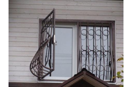 Сварные решетки с элементами ковки - Металлические конструкции в Севастополе