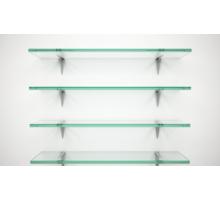Полки из стекла различных размеров - Дизайн интерьеров в Ялте
