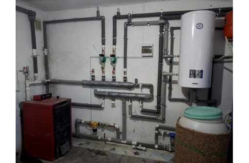 Установка сантехприборов, счетчиков, водонагревателей. Монтаж отопления, водопровода, канализации. - Сантехника, канализация, водопровод в Севастополе