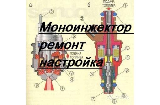 Ремонт МОНОИНЖЕКТОРА, настройка расхода, фото — «Реклама Севастополя»