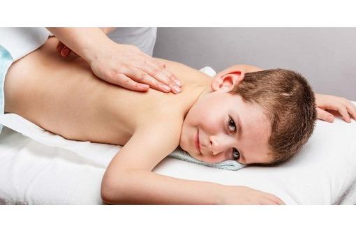Профилактика сколиоза, массаж для детей и подростков корректирующий осанку., фото — «Реклама Севастополя»