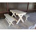 Стол и лавки для кафе, складные - Столы / стулья в Севастополе