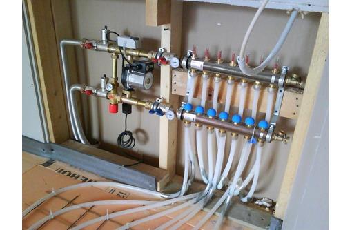 Монтаж системы отопления, теплого пола, водоснабжения, канализации, септика в Белогорске. - Газ, отопление в Белогорске