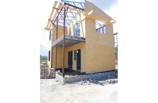 Дома под ключ из металлокаркаса - Строительные работы в Алуште
