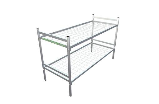 Кровати металлические от производителя, фото — «Реклама Фороса»