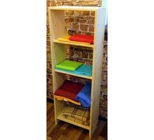 Стеллаж из массива сосны 1500х300х450 мм - Мебель для гостиной в Крыму