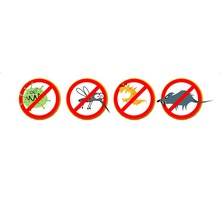 Полное уничтожение насекомых, грызунов и вредных микроорганизмов! Полный пакет документов! Гарантия! - Клининговые услуги в Бахчисарае