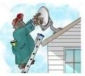 Установка и ремонт спутникового и цифрового тв антенн тарелок т2 Алушта - Спутниковое телевидение в Крыму