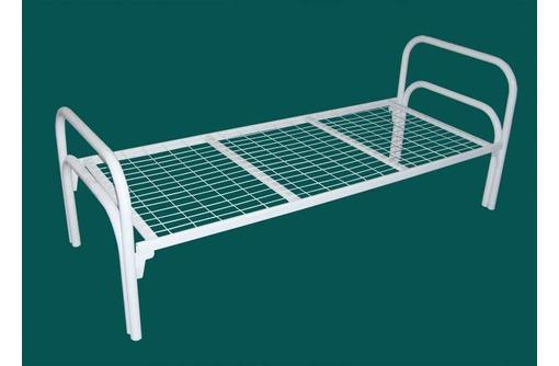 Кровать металлическая с матрасом, купить металлические кровати, металлические 2х ярусные кровати, фото — «Реклама Севастополя»