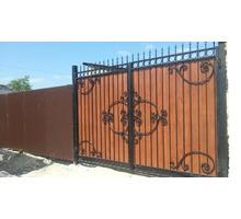 Ворота, металлические, кованые, из профнастила Севастополь - Заборы, ворота в Севастополе