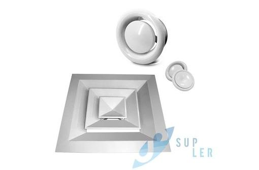 Диффузор пластиковый универсальный 125 мм - Кондиционеры, вентиляция в Севастополе