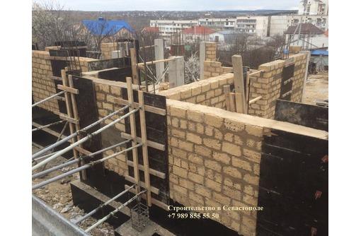 Кладка камня в Севастополе | француз, ракушечник, газобетон, блоки, габионные строения, кирпич - Строительные работы в Севастополе