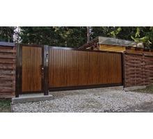 Ворота дворовые откатные автоматические - Заборы, ворота в Севастополе