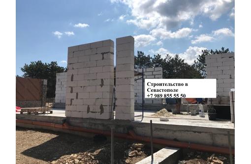 Кладка ракушечника, газобетона, камня француз в Севастополе - Строительные работы в Севастополе