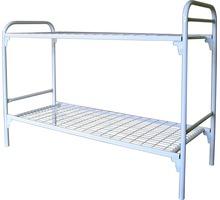 Кровати на металлических ножках, металлические 2х ярусные кровати, кровать металлическая с матрасом - Мебель для спальни в Форосе