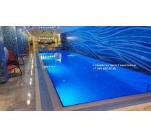 Строительство бассейнов. Проектирование, строительство, монтаж оборудования. Любой сложности - Бани, бассейны и сауны в Севастополе