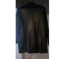 Женская кожаная куртка (черная) - Женская одежда в Севастополе