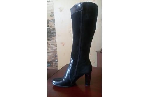 Продам женские замшевые сапоги - Женская обувь в Севастополе