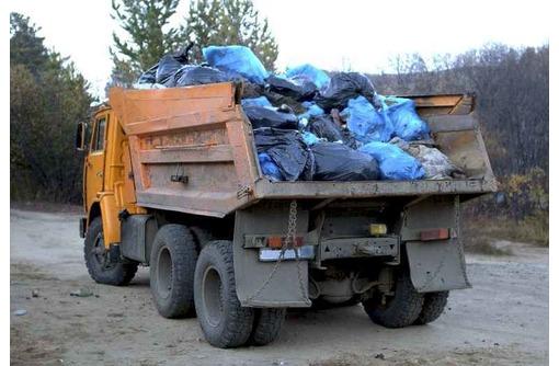 Вывоз строительного мусора, грунта, хлама. Газель, Зил, Камаз - Вывоз мусора в Севастополе