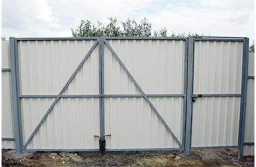 Ворота откатные, распашные с автоматикой и без - Заборы, ворота в Севастополе