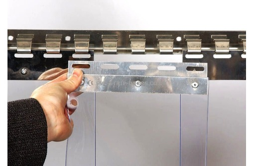 Ленточная Завеса ПВХ энергосберегающая, термоштора, штора пвх - Продажа в Красноперекопске