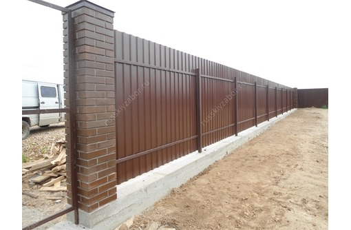 Заборы из профнастила - качественно и недорого - Заборы, ворота в Севастополе