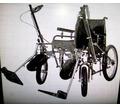 Кресло колесное дорожное складное ДККС-8-04-46 новое - Медицинские услуги в Севастополе