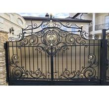 Изготовление и установка ворот, металлических дверей, заборов, навесов, козырьков - Заборы, ворота в Симферополе
