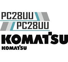 Комплекты наклеек для спецтехники Komatsu - Запчасти в Севастополе