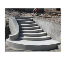 Бетонные и монолитные работы. Фундаменты, колонны, опорные стены, перекрытия, лестницы,  заборы - Строительные работы в Феодосии
