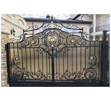 Изготовление ворот, навесов, металлических дверей, решеток - Заборы, ворота в Феодосии