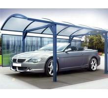 Изготовим и установим навес из поликарбоната для Вашего автомобиля, ворота, - Металлические конструкции в Феодосии
