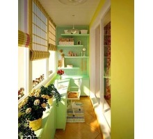 Внутренняя обшивка балконов, лоджий - Балконы и лоджии в Керчи