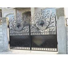 Изготовление и установка ворот, металлических дверей, заборов, навесов, козырьков, решеток - Заборы, ворота в Феодосии