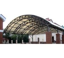 Изготовим и установим навес из поликарбоната для Вашего автомобиля, ворота - Металлические конструкции в Евпатории