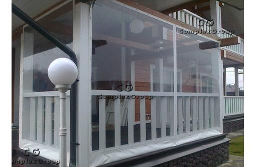 Мягкие окна, шторы ПВХ на дачи,кафе, фото — «Реклама Севастополя»
