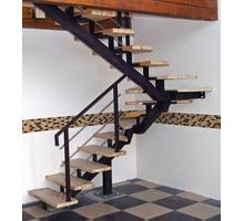 Изготовление лестниц, обшивка бетонных и металлических каркасов - Лестницы в Евпатории