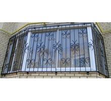Изготовление и установка решеток на окна и двери, навесов, козырьков, ограждений - Металлические конструкции в Ялте