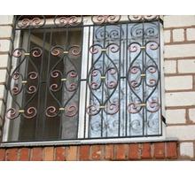 Решетки на окна, калитки, ворота, заборы, двери, навесы, перила, ковка - Металлические конструкции в Ялте
