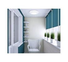 Осуществляем внутреннюю обшивку балконов, лоджий пластиковой и МДФ вагонкой. - Балконы и лоджии в Ялте