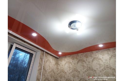 Комбинированные натяжные потолки-стильное решение, фото — «Реклама Бахчисарая»